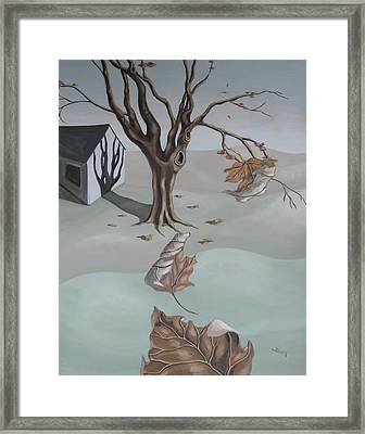 Autumn Remnants Framed Print
