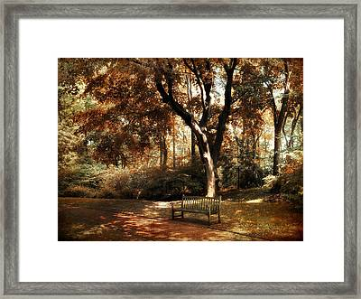 Autumn Repose Framed Print
