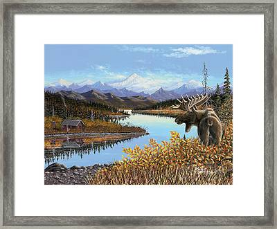 Autumn Revere Framed Print by Kurt Jacobson