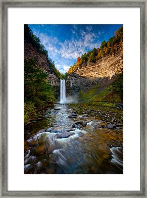 Autumn Riches Framed Print by Neil Shapiro