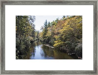 Autumn River Framed Print by Ricky Dean