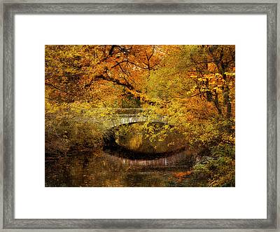 Autumn River Views Framed Print by Jessica Jenney