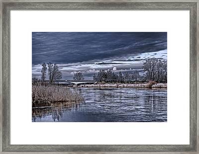 Autumn Riverscape Framed Print by Joachim G Pinkawa