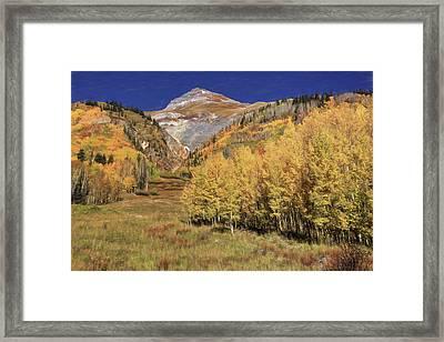 Autumn Road Trip Framed Print