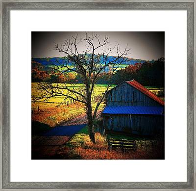 Autumn Romance Framed Print by Joyce Kimble Smith
