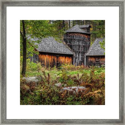 Autumn Rustic 2016 Square Framed Print