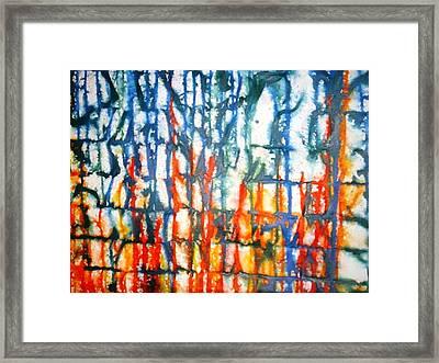 Autumn Sea Framed Print by Baljit Chadha