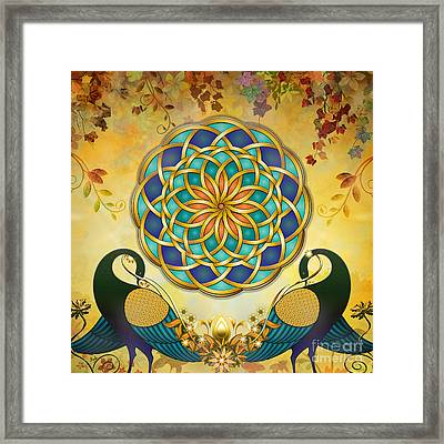 Autumn Serenade - Dawn Version Framed Print