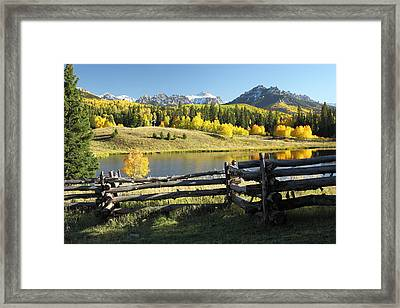 Autumn Serenade Framed Print