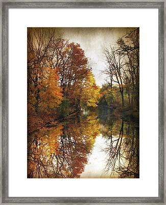 Autumn Serenity Framed Print by Jessica Jenney