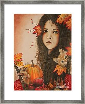 Autumn Framed Print by Sheena Pike
