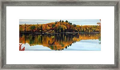 Autumn Showcase Framed Print