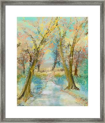 Autumn Sketch Framed Print