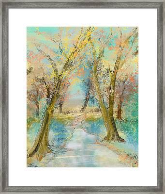 Autumn Sketch Framed Print