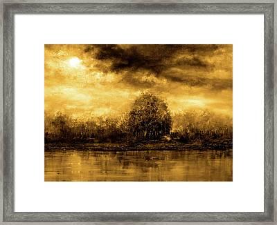 Autumn Skies Framed Print by Ann Marie Bone