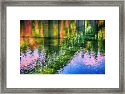 Autumn Span  Framed Print