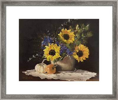 Autumn Still Framed Print