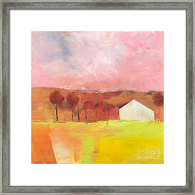 Autumn Stillness Framed Print