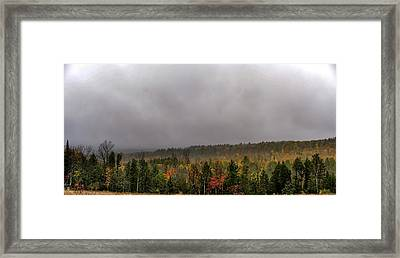 Autumn Storm Framed Print by Donna Lee