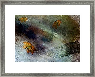 Autumn Storm Framed Print by Gun Legler