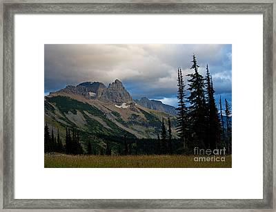 Autumn Storm Framed Print