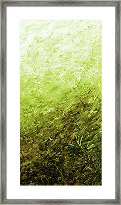 Autumn Sunrise - Olive Framed Print by Julie Turner