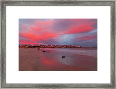 Autumn Sunrise Framed Print by Roy McPeak