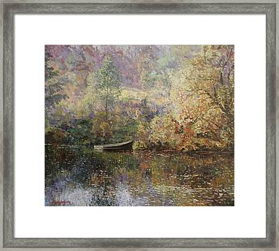 Autumn Tenderness Framed Print by Andrey Soldatenko