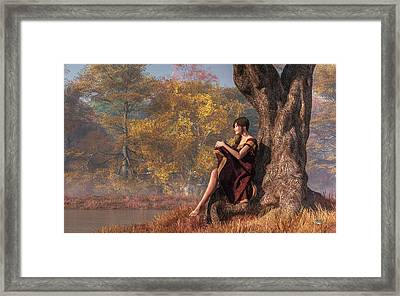 Autumn Thoughts Framed Print