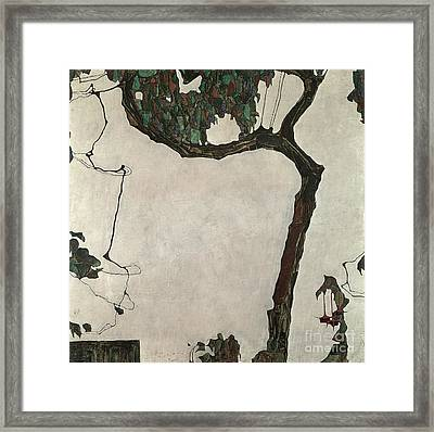 Autumn Tree Framed Print by Egon Schiele