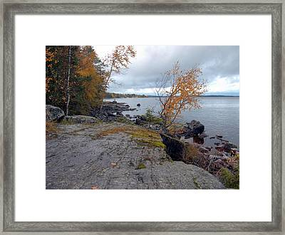 Framed Print featuring the photograph Autumn View 4 by Sami Tiainen