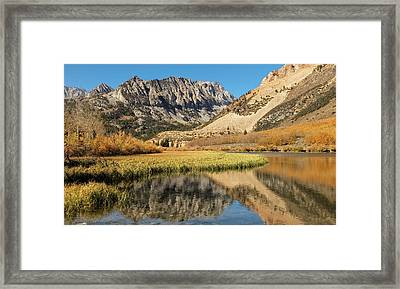 Framed Print featuring the photograph Autumn View At North Lake by Stuart Gordon