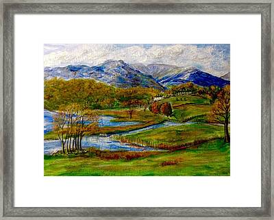 Autumn View Of The Trossachs Framed Print