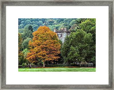 Autumn Walkers Framed Print by Adrian Evans
