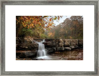 Autumn Water Framed Print