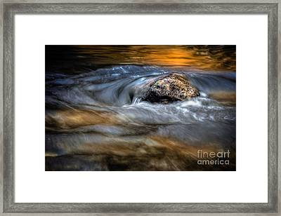 Autumn Waters Framed Print