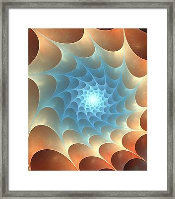 Autumn Web Framed Print