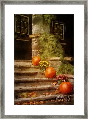Autumn Welcome Framed Print