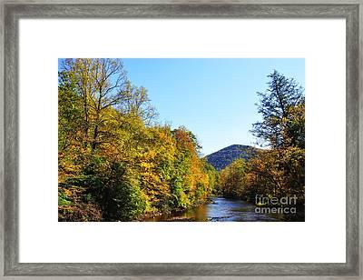 Autumn Williams River Framed Print by Thomas R Fletcher