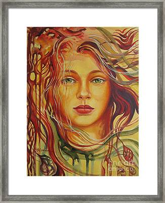 Autumn Wind 2 Framed Print