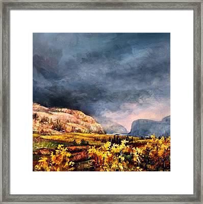 Autumn Wine Framed Print