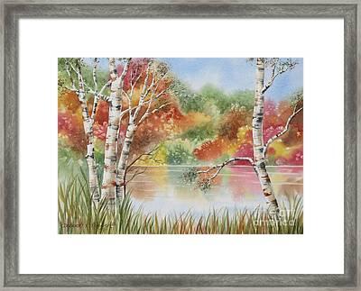 Autumn Wonder Framed Print by Deborah Ronglien