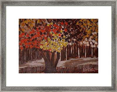 Autumn Woodland 2 Framed Print by Eckland Cort