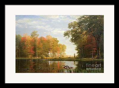 Turning Leaves Paintings Framed Prints