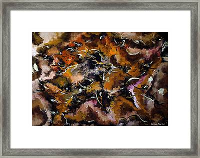 Autumnal Cut Framed Print