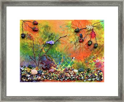 Autumnal Enchantment Framed Print by Donna Blackhall