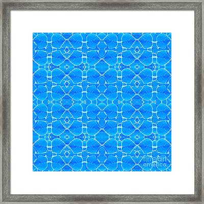 Autumnal In Blue Framed Print by Helena Tiainen