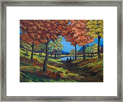 Autumnal Nostalgia Framed Print by Tyler Auman