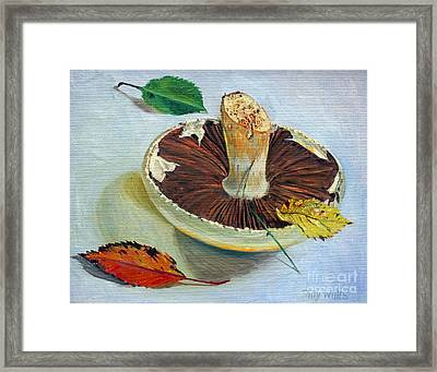 Autumnal Still Life, Framed Print by Tilly Willis