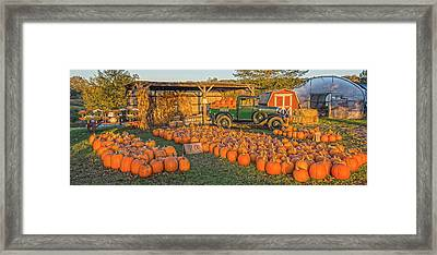 Autumnal Sunrise At Roe's Framed Print